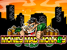 Бездепозитная игра с бонусами Money Mad Monkey